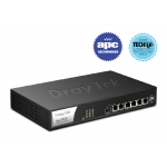 Draytek DV2952P 1xCombo WAN (Gigabit/SFP) and 1xGigabit WAN, Firewall QoS IPv6 Broadband Router with 4xPoE Giga LANs (power budget up to 60 Watts), 100 x VPNs, 50 x SSL VPNs, 2 x USB (USB 2.0 / 3.0), and support Smart Monitor (100 nodes) & VigorACS SI