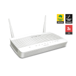 Draytek DV2133ac Broadband Firewall QoS IPv6 Router with 4 x Giga LANs, 2 x VPNs, USB 3G/4G backup, AC1200 WiFi (300 Mbps + 867 Mbps), and support VigorACS SI