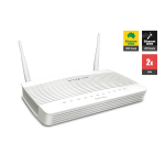 Draytek DV2133Vac Broadband Firewall QoS IPv6 Router with 4 x Giga LANs, 2 x VPNs, USB 3G/4G backup, AC1200 WiFi (300 Mbps + 867 Mbps), VoIP (2 x FXS, 1 x PSTN), and support VigorACS SI