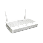 DrayTek DV2135ac Broadband router with 1 x GbE WAN, 1 x configurable GbE WAN/LAN port, 3 x GbE LAN ports, SPI Firewall,  802.11ac Wi-Fi, and 2 x VPN tunnels including 2 x SSL-VPN