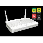 Draytek DV2762n VDSL2 & ADSL2+ Firewall QoS IPv6 Router with 1 x Giga WAN/LAN, 3 x Giga LANs, 2 x VPNs, USB 3G/4G backup