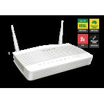 Draytek DV2762vac VDSL2 & ADSL2+ Firewall QoS IPv6 Router with 1 x Giga WAN/LAN, 3 x Giga LANs, 2 x VPNs, USB 3G/4G backup, AC1200 WiFi (300 Mbps + 867 Mbps), VoIP (2 x FXS, 1 x PSTN