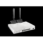 DrayTek DV2865L Multi WAN Router with a Cat 6 4G LTE SIM slot, VDSL2 35b/ADSL2+, 1 x GbE WAN/LAN, and 3G/4G USB WAN port for Load Balancing and Fail-over, 5 x GbE LANs, Object-based SPI Firewall, CSM, QoS, 32 x VPNs, 16 x SSL VPNs, and support VigorACS 2