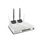 DrayTek DV2865Lac Multi WAN Router with a Cat 6 4G LTE SIM slot, VDSL2 35b/ADSL2+, 1 x GbE WAN/LAN, and 3G/4G USB WAN port for Load Balancing and Fail-over, 5 x GbE LANs