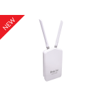 Draytek DAP920R IP67 Rated Dust & Water Resistant Outdoor 802.11ac wireless AP with high TX power up to 25dBm, 2 x Omni-directional antennae, 1 x Gigabit LAN port with PoE-PD port, and 2 x physical VLANs