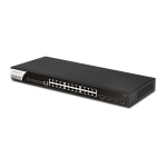 DrayTek DSG2280x L2+ Managed Gigabit Switch with 4 x 10GbE SFP+ slots, 24 x GbE ports, and 1 x Console port