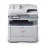 OKI MB451dnw Mono A4 29ppm Network Wireless AirPrint PCL Duplex RADF 350 sheet +options 4-in-1 Multi-Function Printer