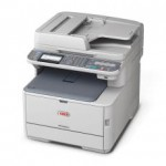OKI MC562dnw Colour A4 26 - 30ppm Network AirPrint, Google Cloud Print, Wireless Duplex 350 sheet +options 4-in-1 Multi Function Printer