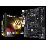 Intel B250, 2 x DDR4 DIMM, 1 x DVI-D, 1 x HDMI, 4 x USB3.1, 1 x RJ-45, 3 x AJ, mATX