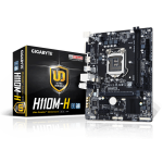 H110, LGA1151, 2DDR4 max32G, GbE LAN, PCI-E 3.0 x16, 4xSATA 6Gb/s, Micro ATX, 4USB3.0, HDMI, D-Sub