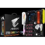 AORUS, Intel Z270, LGA 1151, DDR4 4 DIMMs, 8 x SATA3, 2 x PCIe3.0, 1 x HDMI, 1 x DP, 2 x RJ-45, 5 x AJ, E-ATX