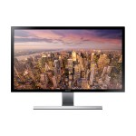"28"" wide, TN, 3840x2160 UHD, ~2ms, 170/160 viewing angle, 1B colours, 60Hz refresh rate, 75x75 VESA, Display Port, 2xHDMI, Headphone"