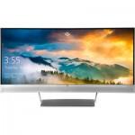 """HP S340c, 34"""", Curved, 21:9, WQHD, 3440x1440, DP + HDMI, Webcam, Tilt, 3 Yrs"""