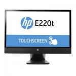 HP E220t Touch LED, 16:9, 1980x1080, VGA+DVI+DP, USB, Tilt, Height, Pivot, 3Yrs