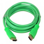 HDMI Cable V2.0 Gold 2m Green