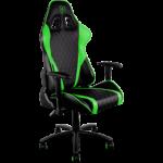 ThunderX3 TGC15 Series Gaming Chair - Black/Green