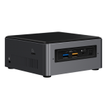 Boxed Intel NUC Kit, NUC7i3BNH, Single Pack