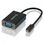 ALOGIC 15cm Micro HDMI to VGA Adapter With 3.5mm Audio - Male to Female (Full HD -1920 X 1080)