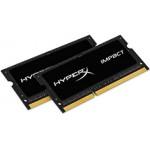 8GB 2133MHz DDR3L Non-ECC CL11 SODIMM (Kit of 2) 1.35V HyperX Impact Black