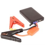 6000mah Emergency Power with Clippers for Car Battery, 2.1 Amps (10.5watts) power output, precharged