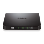 16 Port Unmanaged Gigabit Desktop Switch