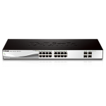 16 PORT 10/100/1000MBPS + 4 PORT SFP WEBSMART SWITCH
