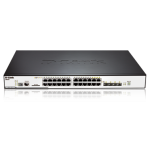 24-PORT xSTACK LAYER 2 STACKABLE PoE GIGABIT SWITCH