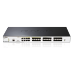 24-PORT xSTACK LAYER 2 STACKABLE SFP GIGABIT SWITCH