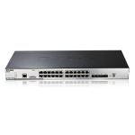 24PORT GBIT STACKABLE L2+SWITCH 4COMBO SFP 40-GIGABIT STACK
