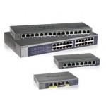 NETGEAR GS108E ProSafe Plus 8-port Gigabit Switch