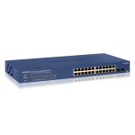 NETGEAR 24-Port Gigabit PoE+ Smart Managed Pro Switch with 2 SFP (GS724TPv2)