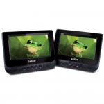 "DVD Player Dual In Car 7"" with Bonus Pack"