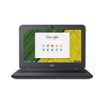 "Chromebook 11.6"" HD Acer ComfyView LCD, Intel Celeron N3160, 4GB DDR3, 16GB SSD, GOOGLE OS, 3 cell Li-ion, 1 year Mail in Warranty"