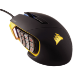 Corsair Gaming SCIMITAR PRO RGB 16, 000 DPI Optical Gaming Mouse - Yellow (NEW)