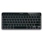 Logitech Bluetooth Illuminated Keyboard K810 - performance shines through in style
