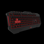 ASUS Cerberus MKII 343 colours backlit metal backplate 12 marcro keys splash-proof desgin gaming keyboard