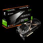 AORUS, GTX 1080 Ti, 11GB GDDR5X, 1 x DVI-D, 3 x HDMI-2.0b, 3 x DP-1.4, 7680x4320, ATX