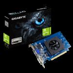 GT 710, DDR5, 1 GB, 4096 x 2160, PCI-E 2.0 x8, DVI-Dx1, HDMIx1, D-Subx1, ATX