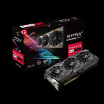 AMD Radeon RX580 8GB ROG Strix Aura Sync TOP Edition Gaming Graphics Card