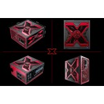 "Powerful ""X"" theme Gaming PSU, total output 800W, 80+ True Power Supply"