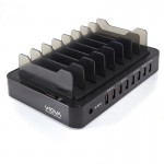 VROVA 8 Bay USB Desktop Charging Station 12A/5V Output