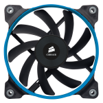 Corsair Fan, AF120, Low noise high airflow fan, 120 mm x 25 mm, 3 pin, Dual Pack