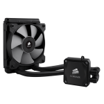 Corsair Hydro Series H60, Compatible with Intel (LGA115x, LGA1366, LGA 2011) and AMD (AM2, AM3, FMx), 120mm Radiator