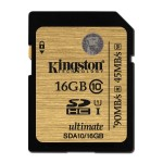 Kingston class10 UHS-I Ultimate SDHC 16GB