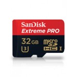 SanDisk 32GB Extreme PRO microSDHC UHS-I memory card