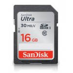 SanDisk 16GB Ultra SDHC UHS-I Memory Card