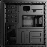 Aerocool CS-1101 Mid Tower Case USB 3.0 x 1, USB2.0 x 2 HD audio + Mic Rear 80mm Fan w/600W PSU ( APFC 230V)