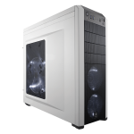 Corsair Carbide Series 500R Mid-Tower Gaming Chassis, White