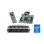Intel Rack Server Chassis w/ heatsinks, air ducts, ODD bay, control panel, cable, HDD cages & carriers. NoPSU, board or risers
