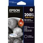 200XL High Cap Black Twin Pack, XP100 XP200 XP300 WF2540